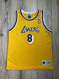 Los Angeles Lakers Kobe Bryant #8 Champion Vintage Jersey size Youth Kids 14-16