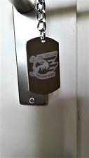 Schlüsselanhänger mit dem Logo der Adler Mannheim