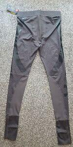 Mens Under Armour Cold Gear Compression  Leggings Size L Colour Grey