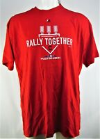 Rally Together MLB Majestic Men's Red Big & Tall Shirt