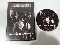 MILLION DOLLAR BABY DVD CLINT EASTWOOD SWANK CASTELLANO ENGLISH