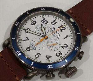 Shinola runwell sport chrono 48mm men's watch