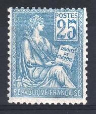 "FRANCE STAMP TIMBRE N° 118 "" MOUCHON 25c BLEU TYPE II "" NEUF xx A VOIR P161"