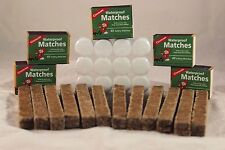 WET WOOD FIRE STARTING KIT #2, WATERPROOF MATCHES, FUEL TABS, FIRE STICKS #M272