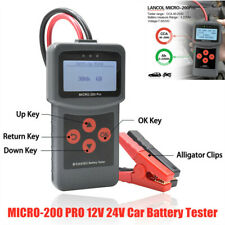 MICRO-200 PRO 12V 24V Car Battery Tester Automotive Load Battery System Analyzer