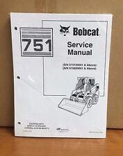 Bobcat 751 Skid Steer Loader Service Manual Shop Repair Book 6900975