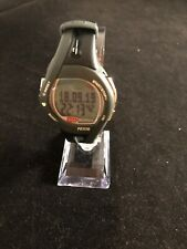 MIO by Physi-Cal Motiva Petite Heart Rate Black red Strap Watch  New Batery