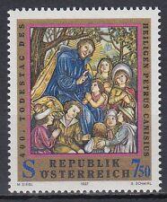 Autriche Austria 1997 ** mi.2215 HL. petrus Canisius bois-relief