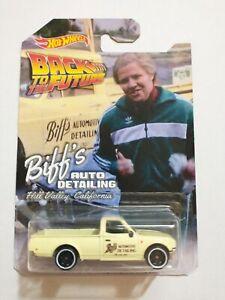 Custom Hot Wheels BTTF Biff's Auto Detailing Truck 1:64