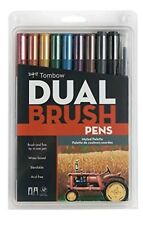 Great Price! TOMBOW Muted SET - ABT Dual Brush Pens Art Markers #56166