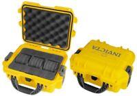 Invicta Men's  Three 3 Slot yellow box Dive,Diver  Box Case Watch,New