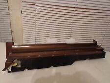 1981 82 84 85 87 Oldsmobile Cutlass 4 Door Passenger Bumper Filler Trim Moulding