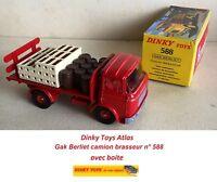 Dinky Toys Atlas n° 588 Gak Berliet camion brasseur boite Kronenbourg