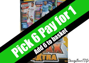 Match Attax Extra 19/20 - Base Cards x 1 (AC/AK/C/CH/FB/MVP/RH/RS/SB/SR/SS/SU)