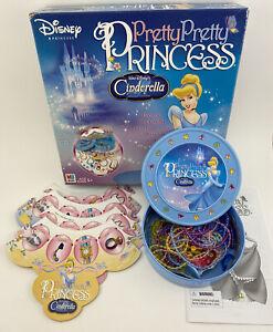 Pretty Pretty Princess Cinderella Edition Disney 100% Complete Board Game 2005