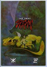 SPASM! - Comix - 9.0, OW-W - 1st printing - Jeff Jones - High grade!