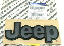 2015-2020 Jeep Renegade rear liftgate hatch gray Nameplate Emblem OEM 68247415AA