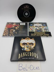 Michael Jackson | Dangerous Speciale Edition deluxe | CD | avec Fourreau carton