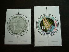 Stamps - New Zealand - Scott# 918 & 1198