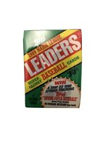 1989 Topps  Major League Leaders  Super Glossy 7 Baseball Cards Wax Pack New