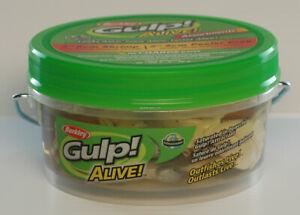 Berkley Gulp Alive Shrimp/Peeler Crab Small Bucket Assorted GAPSH3PC2-AST1