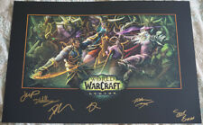 Blizzcon 2015 World of Warcraft: Legion Signed Mini Poster