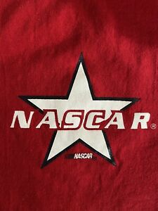 Women's NASCAR Racing Sleeveless T-Shirt Tank Stretchy Red Sz L/XL