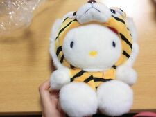 "Japan Special Costumed ""Tora Tiger HELLO KITTY "" Soft Toy Plush"