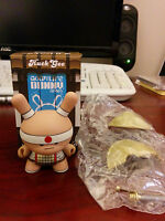Kidrobot HUCK GEE Gold Life Dunny Spear Boy Warrior 1/16 KR Urban Vinyl Art Toy