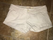 Hollister Women Short Shorts Chino Pants Size 0 w24