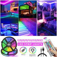 Bande de RVB LED allume la couleur changeante de l'éclairage d'USB d'armoire  UV