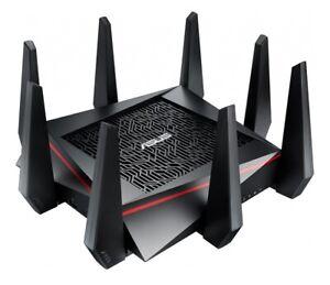 Refurbished Asus RT-AC5300 Tri-Band Gigabit WiFi Gaming Router 4x4 QoS MU-MIMO