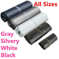Mailing Bags Plastic Poly Postal Packing Strong Self Seal All Sizes Grey White