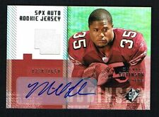 Michael Robinson signed autograph auto w/ Jersey 06 SPX UD 1338/1650