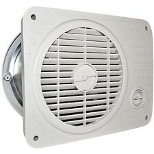 Suncourt Thru Wall Fan Hardwired Hot Cool Air Circulation Room Transfer Vent New