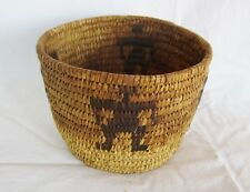 Miniature SW Native American Indian Woven Basket