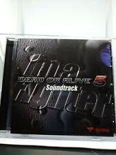 Dead Or Alive 5 Soundtrack CD Brand New & Factory Sealed