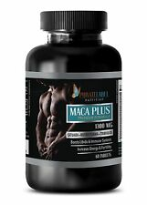 Organic black Maca - MACA PLUS 1300mg - energy vitamin pills -  1 Bottle