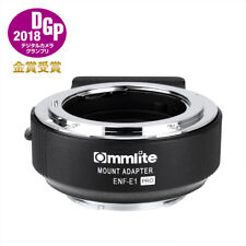 NEW Commlite Adapter ENF-E PRO Auto Focus for NikonG Lens to Sony E-Mount Camera