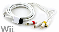 Wii S-VIDEO AV CABLE - GOLD PLATED - Audio Video Composite RCA & S-AV Cord Wii U