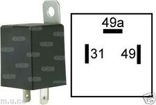 ELECTRONIC FLASHER RELAY INDICATORS 6V 42W FOR LIGHT TURN SIGNAL 3 PIN 160651