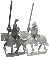 Medieval Mounted Knights Warhammer Fantasy Armies 28mm Unpainted Wargames