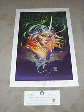 2011 SDCC ASPEN SUNDAY 7/24/11 DAILY PRINT SOULFIRE ART BY MICHAEL TURNER S/N30