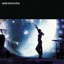 🎶Lovers Live by Sade (CD, Feb-2002, Epic) {brand New}🎶