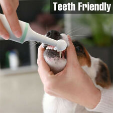 Pet Dog Cat Electric Toothbrush Toothpaste Removal Dental Plaque Whitening Tool
