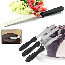 3pcs Stainless Steel Spatula Palette Sharp Set Cake Decorating Tools Kit