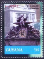 Guyana 2000 MNH, Grand Central Railway Train Terminal in New York
