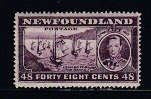 NEWFOUNDLAND Leaving for the Banks MNH stamp