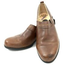 Ariat Loafers 7.5 B Brown Western Paddock Slip On Clogs Flats Shoes 52326  Women