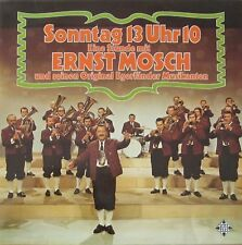 Ernst Mosch und seine Original Egerländer Musikanten - Sonntag 13 Uhr 10 (2 LPS)